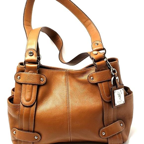 3029b6e30ae4 Tignanello Brown Leather Purse Shoulder Bag. M 5b6de62dde6f6284c9229940